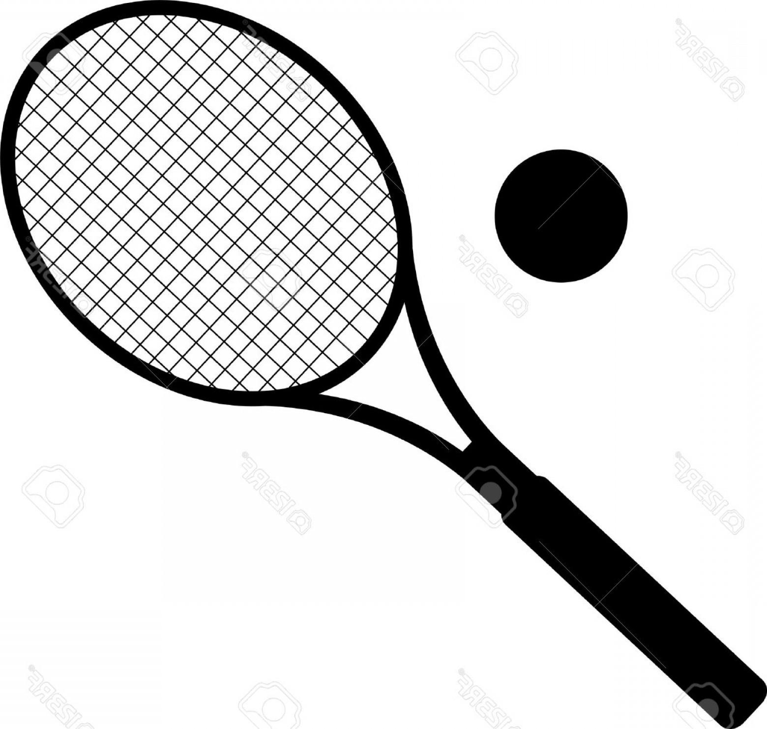 Tennis Racket Vector At Getdrawings