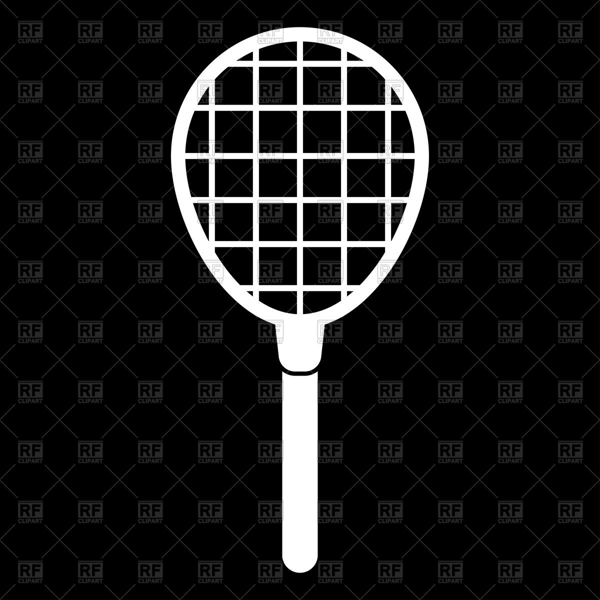 hight resolution of 1200x1200 tennis racquet white color icon vector image vector artwork of