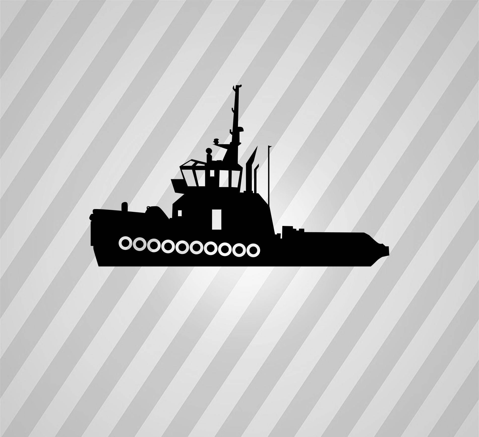hight resolution of 1900x1733 tugboat silhouette