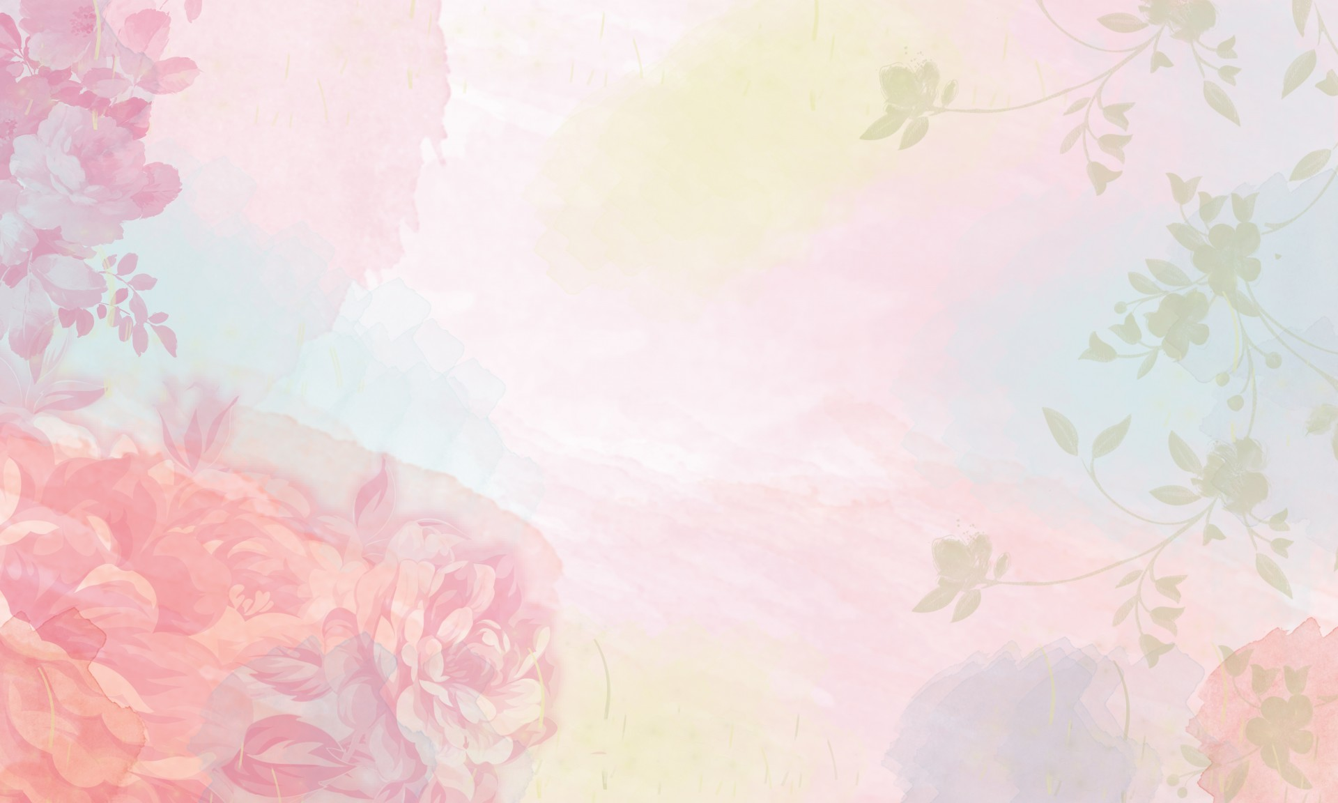 Floral Desktop Wallpaper Watercolor Wengerluggagesave