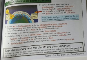Distorting climate science for all ages: a UK example