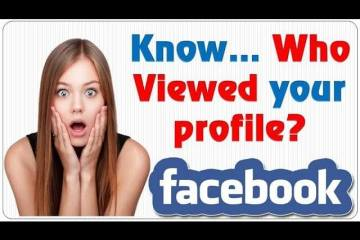 who viewed my Facebook profile recently