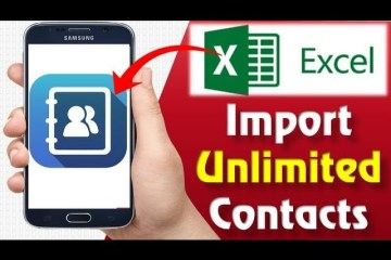 Excel to Contact Android
