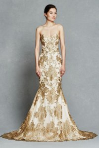 14 Gorgeous White and Gold Wedding Dress - GetFashionIdeas ...