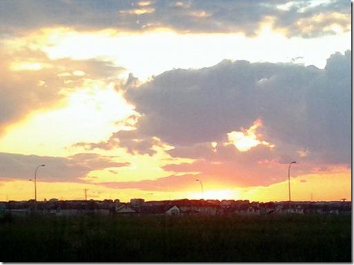 Sunset June 22 2013
