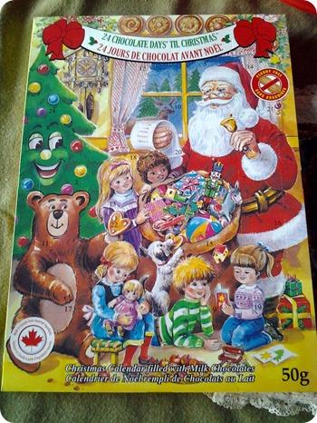 Advent Calendar December 1 2013