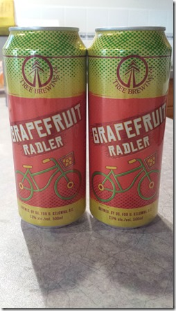 Grapefruit Radler June 22 2014