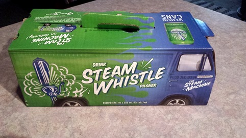 Steam Whistle Beer August 13 2014