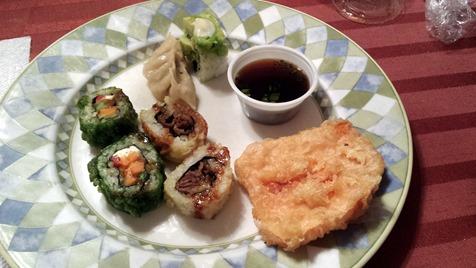 Birthday Sushi October 21 2014