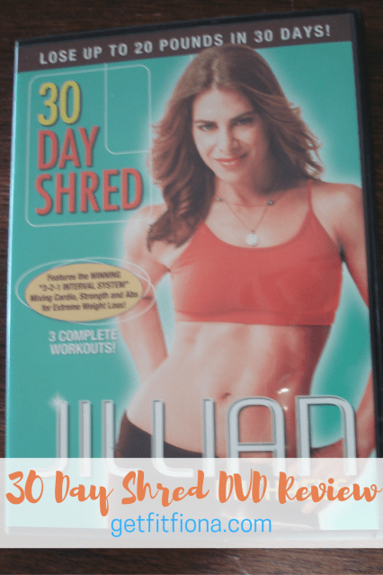 30 Day Shred DVD Review