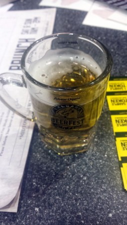Calgary International Beer Fest 2015 Fruh Radler  (2)