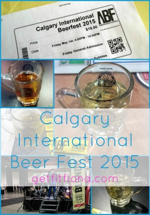 Calgary International Beerfest 2015 Collage Title