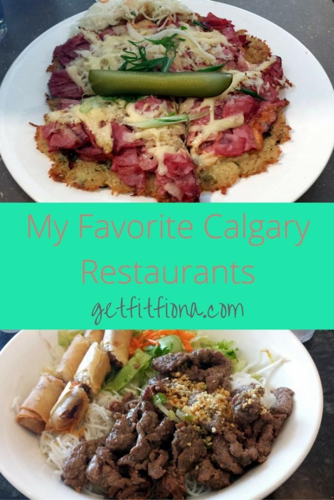 My Favorite Calgary Restaurants