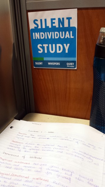 Library Studying October 23 2015