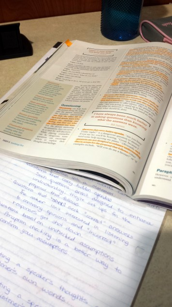 Studying October 2015