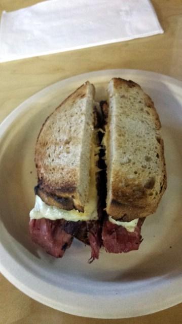 Gruman's Reuben Sandwich December 5 2015