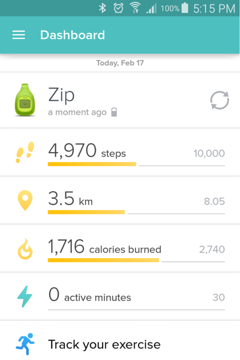 Fitbit App Edited February 2016