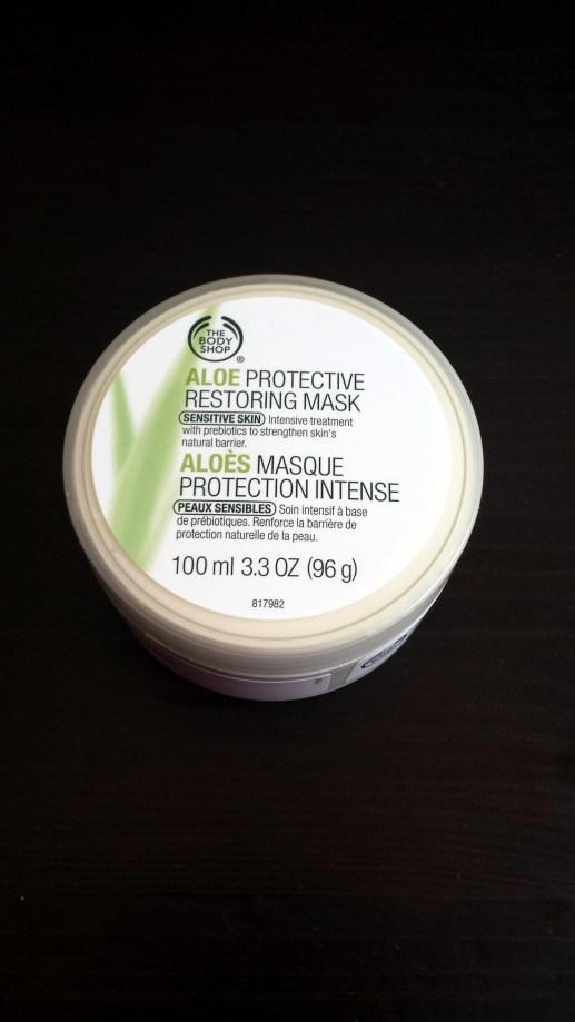 The Body Shop Aloe Protective Restoring Mask
