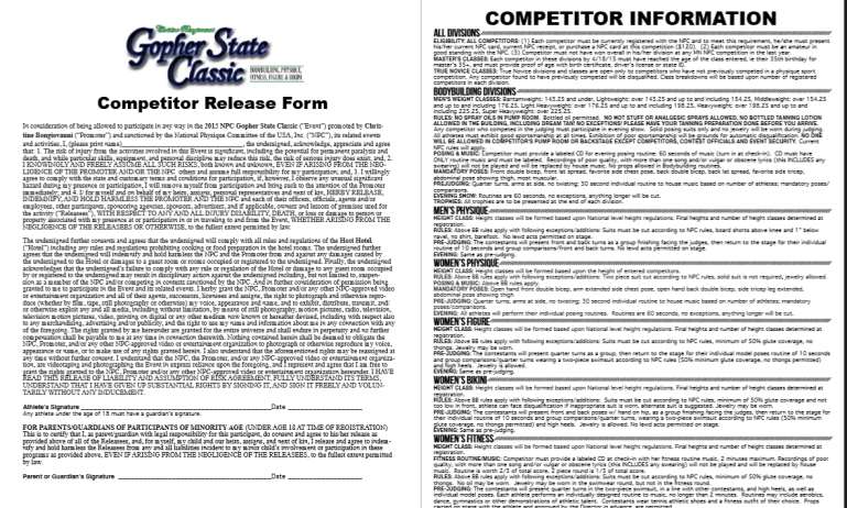 Gopher state Form2
