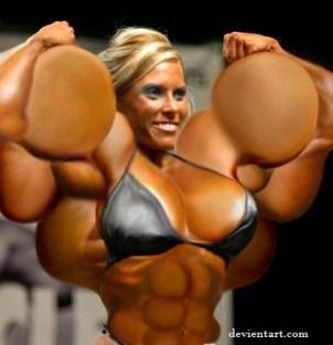 muscular female 1