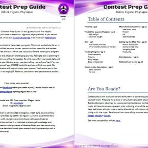 Get Fit. Go Figure! Contest Prep Guide for bikini, figure, physique © (e-book)
