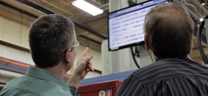 Machine monitoring being used to enhance employee engagement