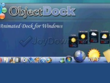 ObjectDock 2.20 Crack / Serial Key Download