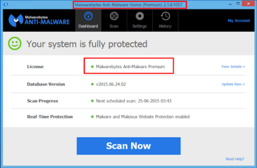 Malwarebytes Anti-Malware Key Lifetime Crack