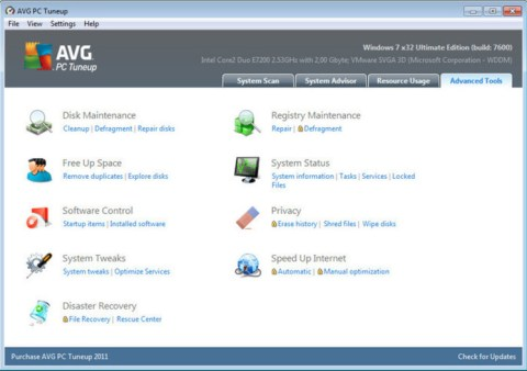 AVG PC Tuneup Torrent Free Download