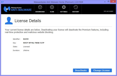 Malwarebytes License Key Plus Crack Full Download
