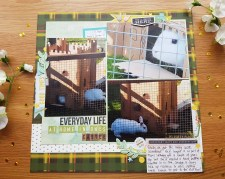 3 Tips to Choose Multi Photo Scrapbook Layouts in the Store A Pet Themed Scrapbook Page Crafting With Ruth