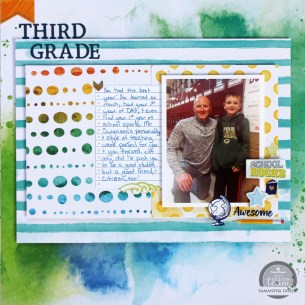 3 Tips to Choose Multi Photo Scrapbook Layouts in the Store Back To School Scrapbook Layout Paper House Productions Blog