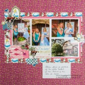 3 Tips to Choose Multi Photo Scrapbook Layouts in the Store Mad Hatter And Alice Layout Scrapbook With Lynda