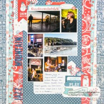 3 Tips to Choose Multi Photo Scrapbook Layouts in the Store Vertical Layers Scrapbook Layout Scrapbook With Lynda
