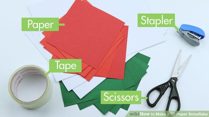 3d Craft Paper