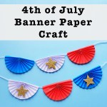 4th Of July Paper Crafts 4th Of July Banner Craft Sq 4th of july paper crafts|getfuncraft.com