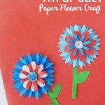 4th Of July Paper Crafts 4th Of July Paper Flower Craft 17