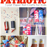 4th Of July Paper Crafts 4th Of July Toilet Paper Roll Crafts