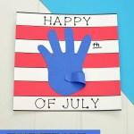 4th Of July Paper Crafts American Flag Template Craft 4th of july paper crafts|getfuncraft.com