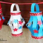 4th Of July Paper Crafts Small Paper Lanterns 9 4th of july paper crafts|getfuncraft.com