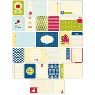 Back to school Scrapbook Ideas to Make Project Life Themed Cards 60pkg School