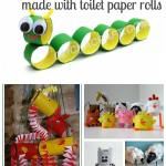 Craft Ideas For Toilet Paper Rolls Toilet Paper Roll Craft Ideas Collage