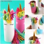 Craft Ideas For Toilet Paper Rolls Unicorn Toilet Paper Roll Craft For Kids