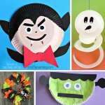 Craft Ideas Using Paper Plates Halloween Crafts With Paper Plates