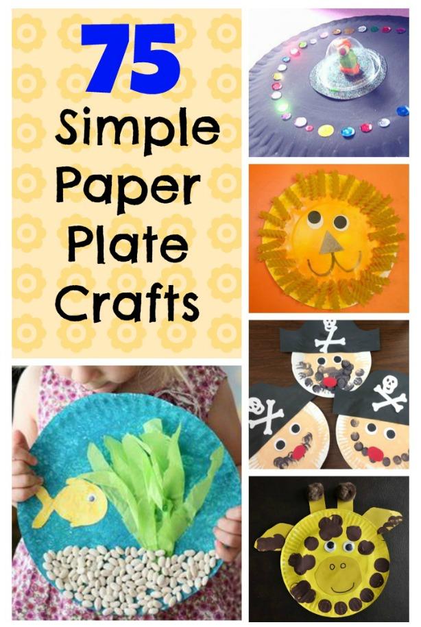 Craft Ideas Using Paper Plates Paper Plate Crafts Collage2 craft ideas using paper plates|getfuncraft.com