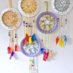 Craft Ideas Using Paper Plates Paper Plate Crafts For Kids Make Super Cute Dream Catchers With Heart Star Details