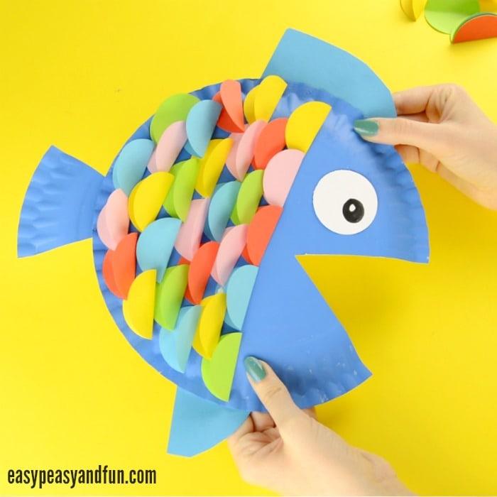 Craft Ideas Using Paper Plates Paper Plate Fish Craft craft ideas using paper plates|getfuncraft.com
