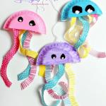 Craft Ideas Using Paper Plates Paper Plate Jellyfish Craft craft ideas using paper plates|getfuncraft.com