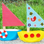Craft Ideas Using Paper Plates Paperplatesailboat Main