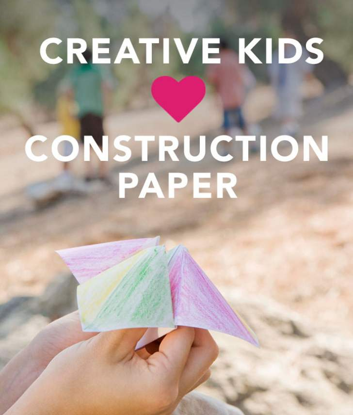 Crafts For Kids Using Construction Paper
